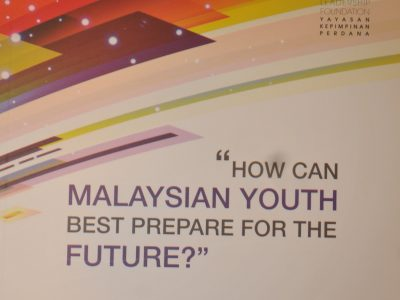 PERDANA DISCOURSE SERIES NO.18: HOW CAN MALAYSIAN YOUTH BEST PREPARE FOR THE FUTURE?