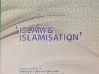 PERDANA DISCOURSE SERIES NO.19: ISLAM & ISLAMISATION