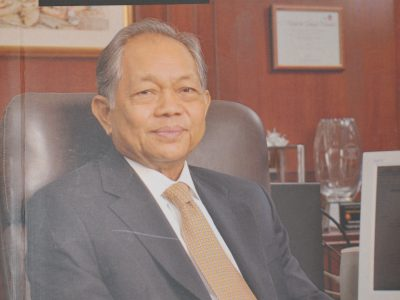 A CONVERSATION WITH TAN SRI LEO MOGGIE
