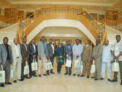 SUDANESE VISITORS TO PERDANA LEADERSHIP FOUNDATION