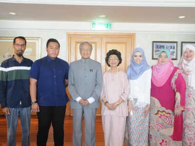 MEET & GREET SESSION WITH TUN DR MAHATHIR MOHAMAD