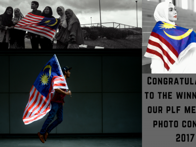 CONGRATULATIONS TO THE WINNERS OF PLF MERDEKA PHOTO CONTEST 2017