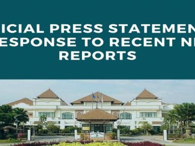 PLF: PRESS STATEMENT