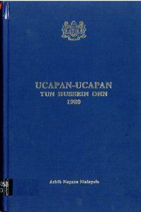 UCAPAN-UCAPAN TUN HUSSEIN ONN 1980