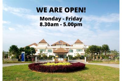 Perdana Library is Open!